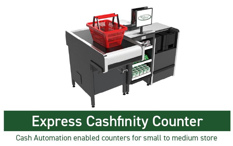 EXPRESS CASHFINITY COUNTER