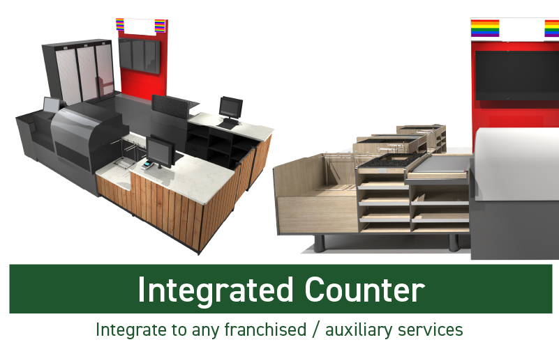 INTEGRATED COUNTER