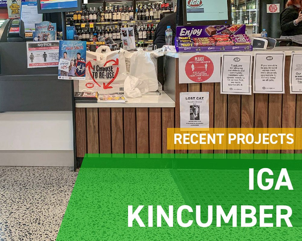 Recent Projects - IGA Kincumber
