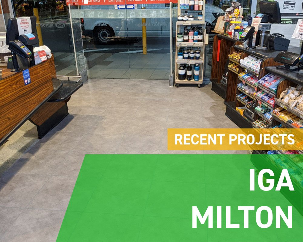 Recent Projects - IGA Milton