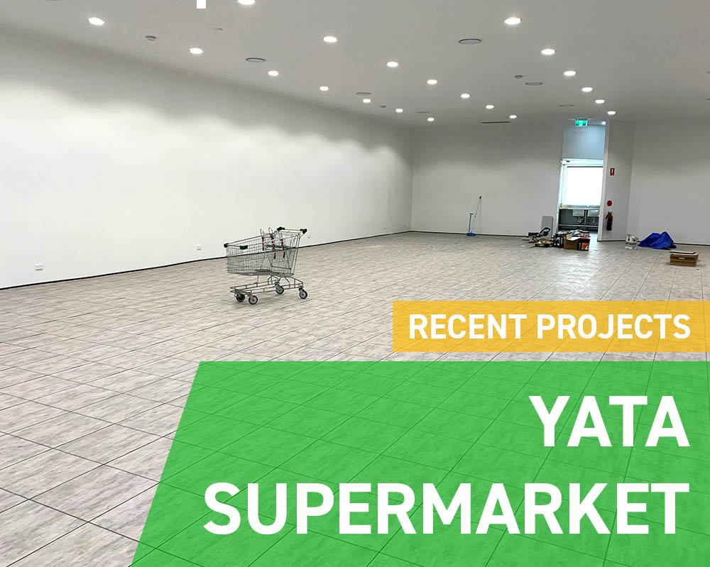 Recent Projects - Yata Supermarket