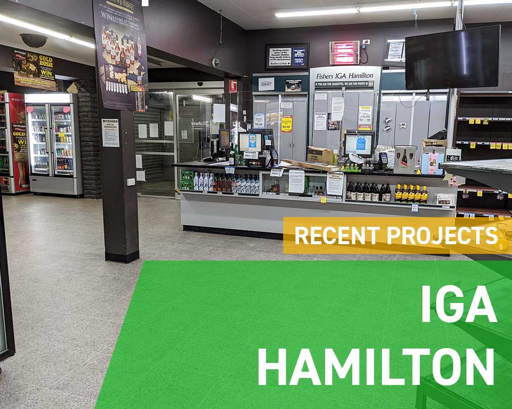 Recent Projects - IGA Hamilton