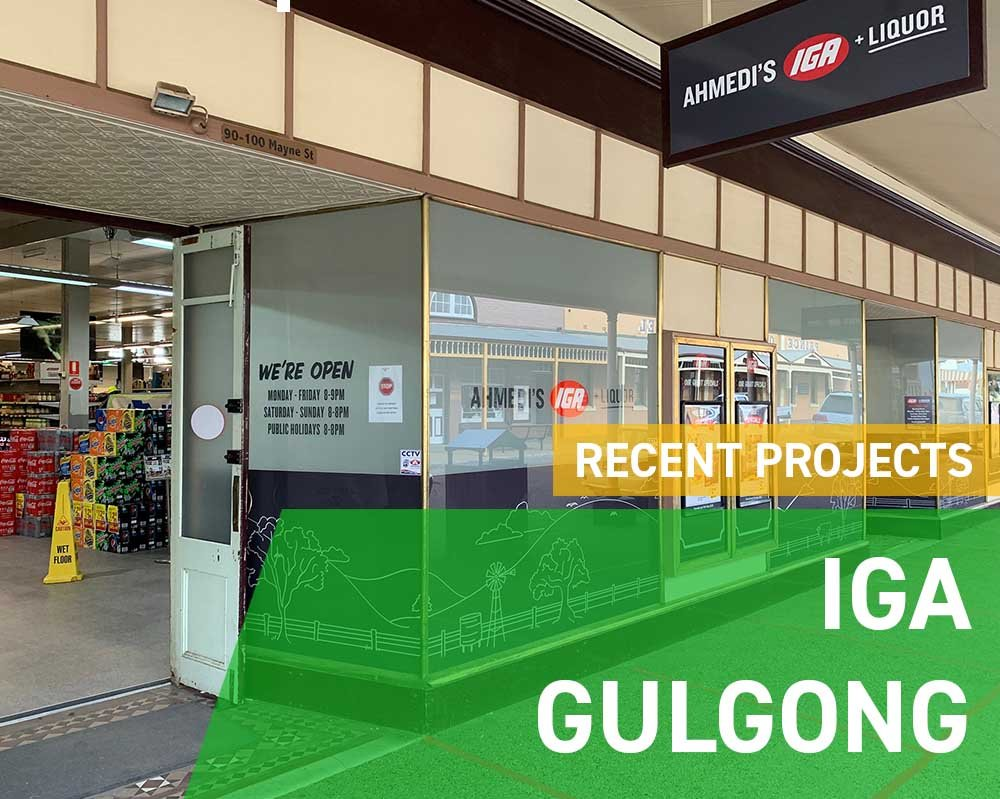 Recent Projects - IGA Gulgong