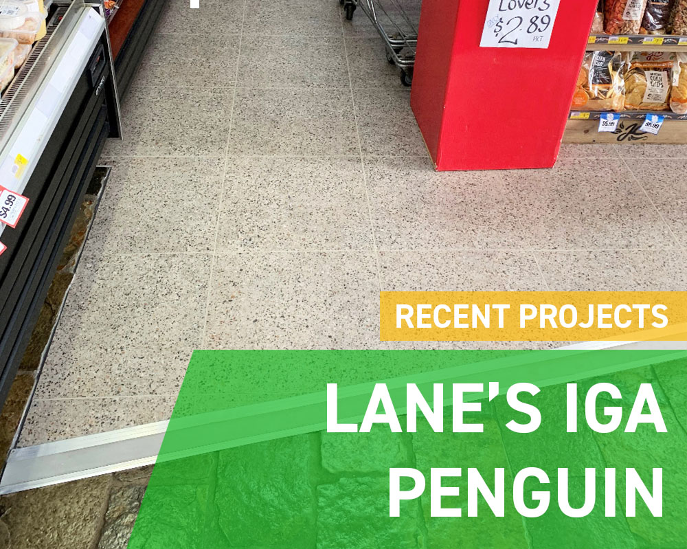 Recent Projects - Lane's IGA Penguin