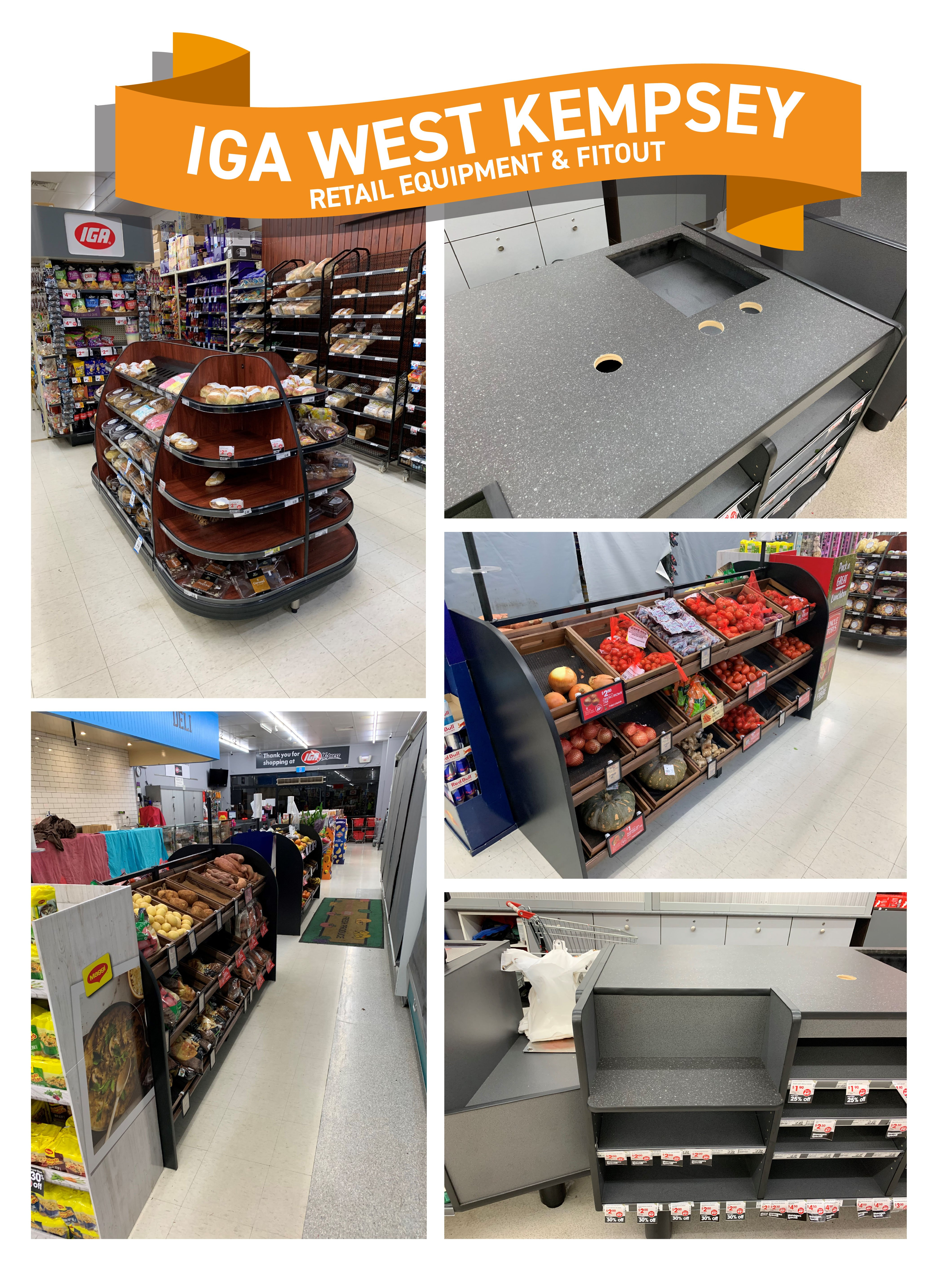 iga west kempsey recent projects