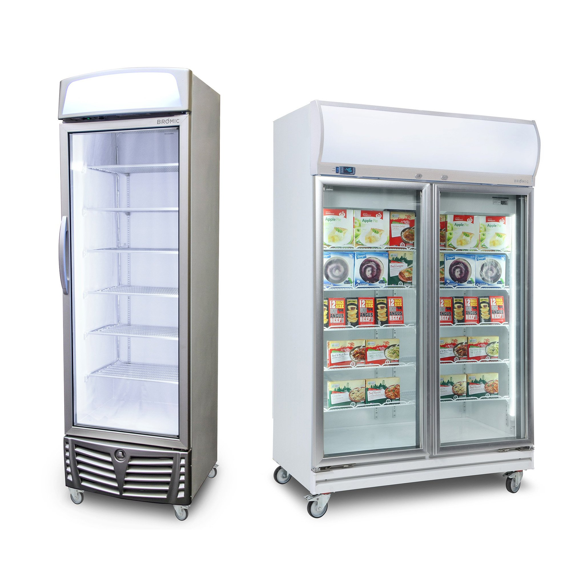 VERTICAL DISPLAY STORAGE UPRIGHT FREEZERS