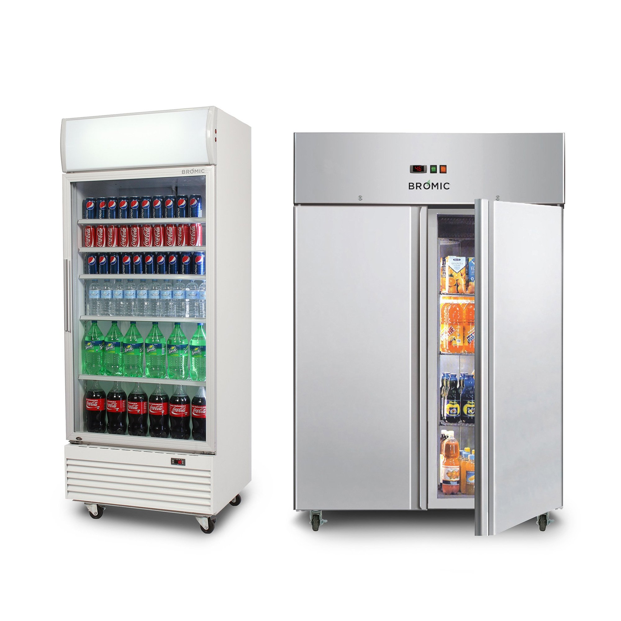 VERTICAL DISPLAY STORAGE UPRIGHT FRIDGES