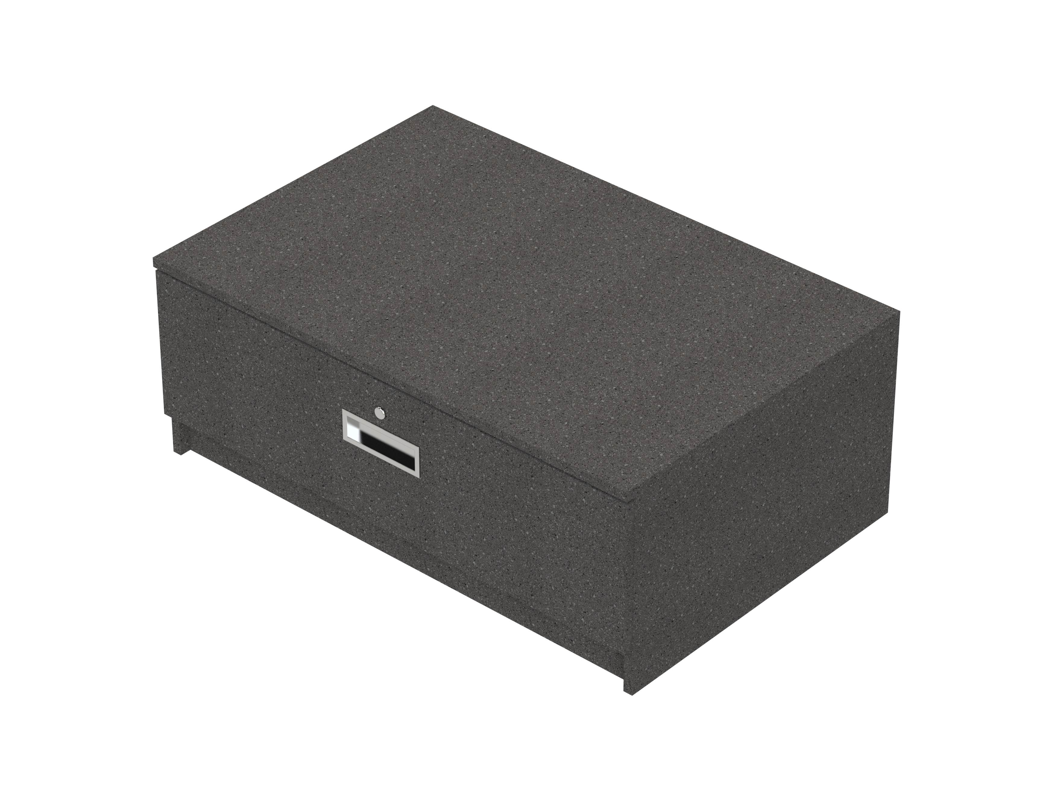 1 Drawer Cig Unit Greystone