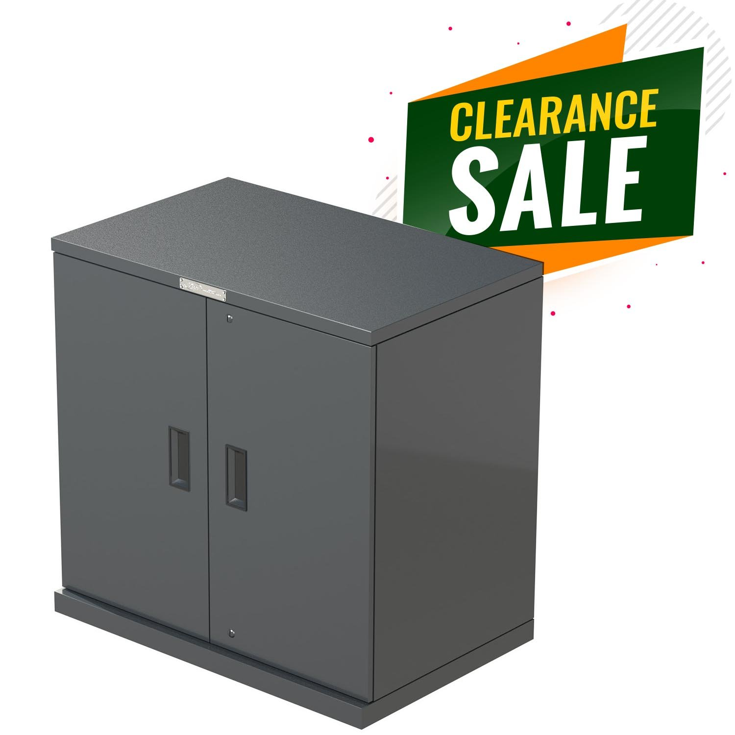 <CLEARANCE> Cupboard Unit Metal 900x880