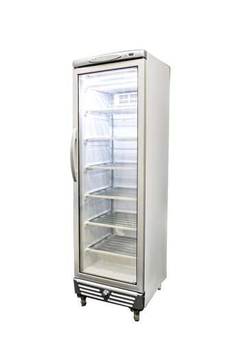 Vertical Glass Door Freezer 300l Refrigeration Vertical Display