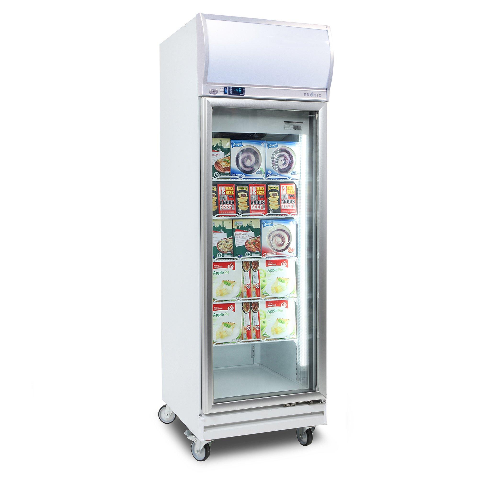Vertical 1 DR Fan Forced Freezer 444L