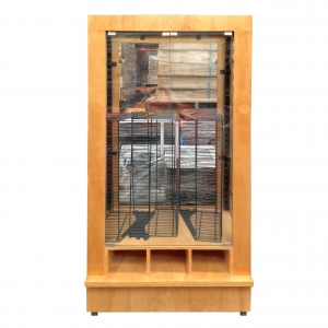Loose Bread Roll Glass Unit Clear finish
