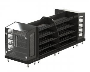 Bakery Loose Bread Roll Black 1400h