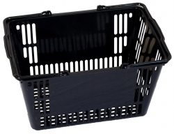 30Ltr Basket  Black, Pack of 20