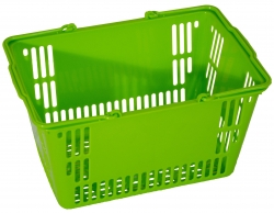 30Ltr Basket  Green, Pack of 20
