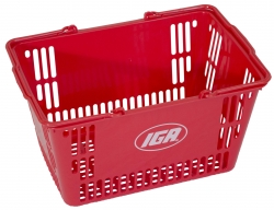 30Ltr Red Basket-IGA, Pack of 20