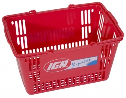 30Ltr Red Basket-IGA Xpress, Pack of 20