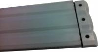 150mm x 17mm Rubber - Black