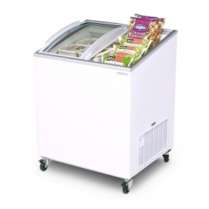 Angle Top Curved Chest Freezer 2 ft