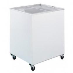 Flat Top Flat Glass Chest Freezer 2ft