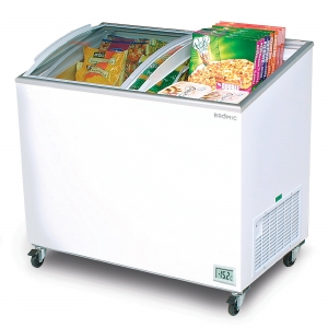 Angle Top Curved Chest Freezer 3 ft