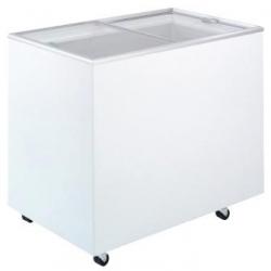 Flat Top Flat Glass Chest Freezer 3ft