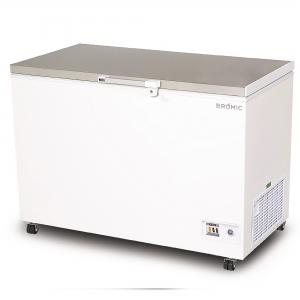 Flat Top S/Steel Chest Freezer 3ft