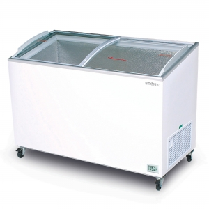 Angle Top Curved Chest Freezer 4 ft