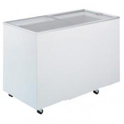 Flat Top Flat Glass Chest Freezer 4ft