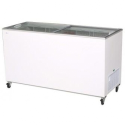 Flat Top Flat Glass Chest Freezer 5ft
