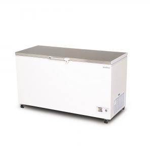 Flat Top S/Steel Chest Freezer 5ft