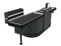 Checkout Metal Single Conveyor 3800 LH
