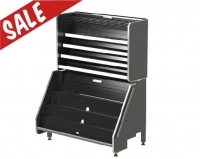 Confectionary Unit Metal Grey 1040 - Click for more info