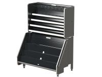 Confectionary Unit Metal Grey 1040