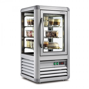 Counter Top Freezer Flat Glass 100L