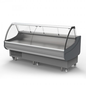 2500mm Curved Glass Deli Display (1off!) - Click for more info