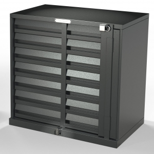 Security 7 Drawer Cig Unit Metal V2