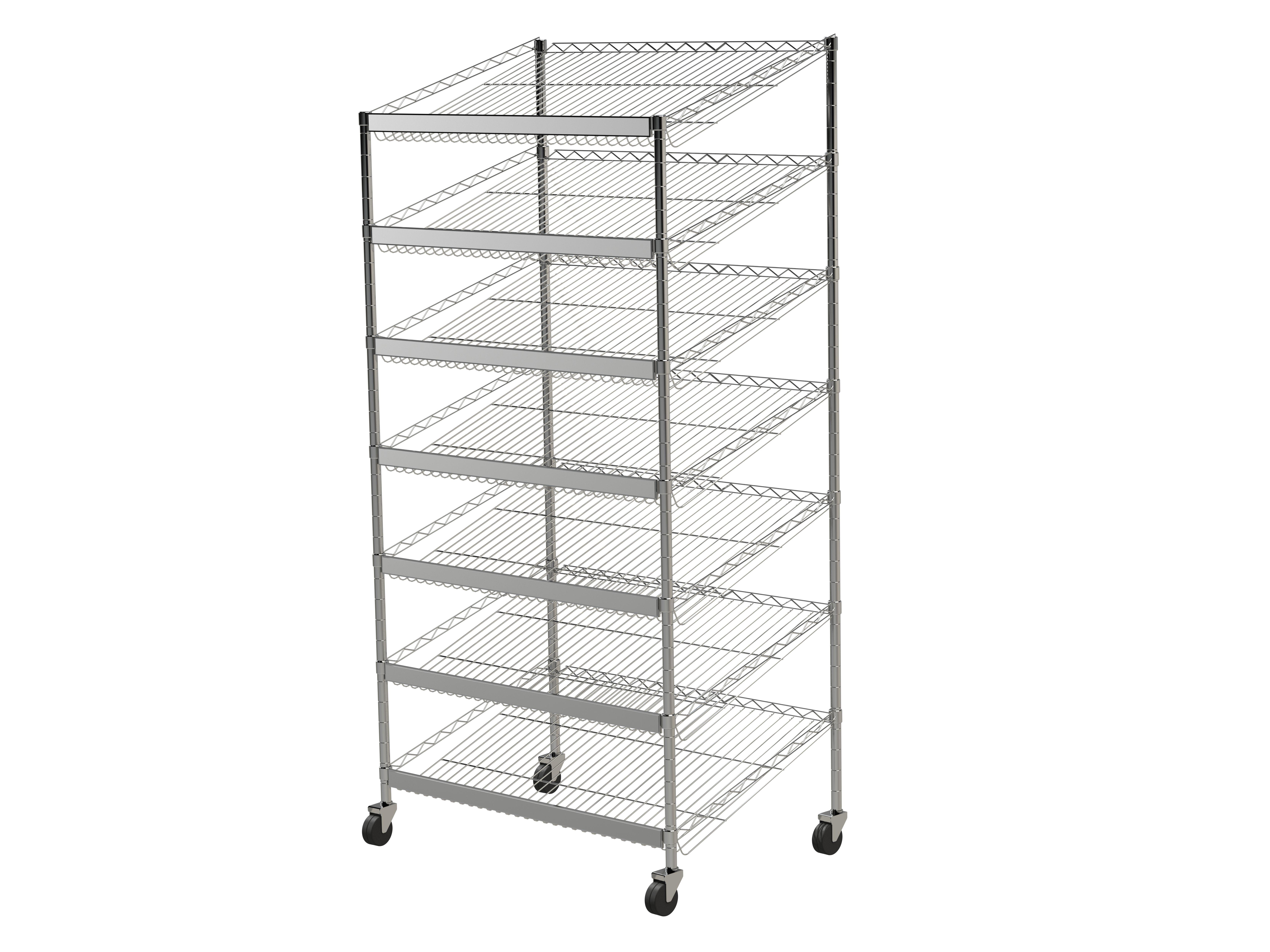 Angled Euro Bakery Cart1800x1200x350