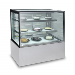 Enclosed Glass Food Display 900mm wide