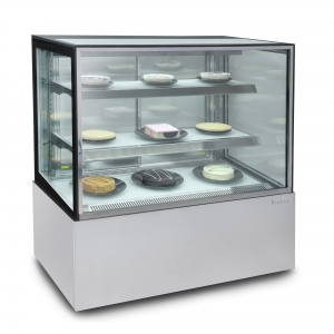 Enclosed Glass Food Display 1200mm wide