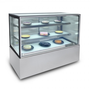 Enclosed Glass Food Display 1500mm wide