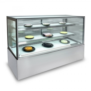 Enclosed Glass Food Display 1800mm wide