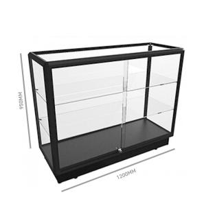 Glass Display Counter 1200
