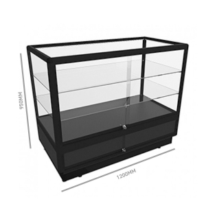 Glass Display Counter 1200 w/ Storage