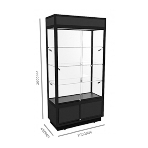 Glass DisplayTower 1000W