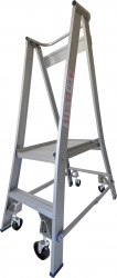 Platform Ladder Aluminium-2 Step