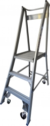 Platform Ladder Aluminium-3 Step