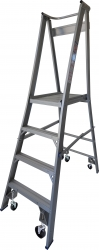 Platform Ladder Aluminium-4 Step