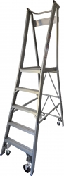 Platform Ladder Aluminium-5 Step