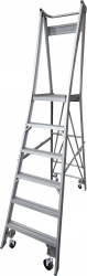 Platform Ladder Aluminium-6 Step